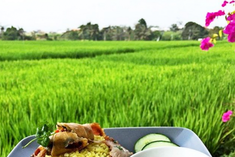 Restaurants in Bali with Rice Paddy View 2018