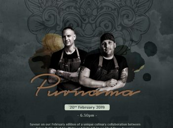HOTEL INDIGO BALI SEMINYAK BEACH'S SALON BALI PRESENTS  A CULINARY COLLABORATION WITH SALTED AND HUNG