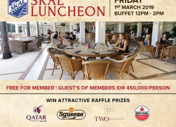 SKAL Luncheon March 2019