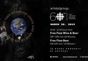 ARTOTEL CELEBRATES EARTH HOUR 2019 WITH FREE FLOW WINE AND BEER FOR 120 MINUTES LONG