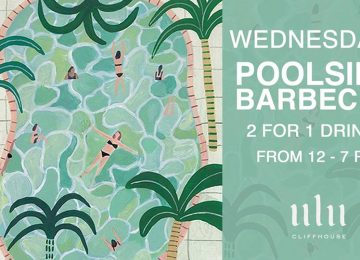 Wednesdays Poolside Barbecue at Ulu Cliffhouse
