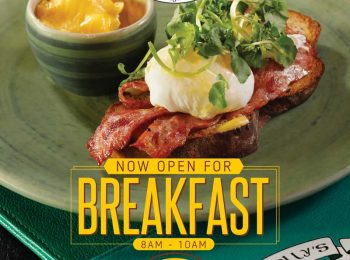 Gracie Kelly's Open for Breakfast!