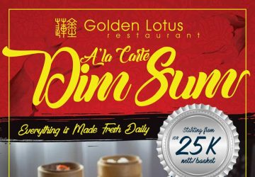 A'la Carte Dim Sum at Golden Lotus Restaurant