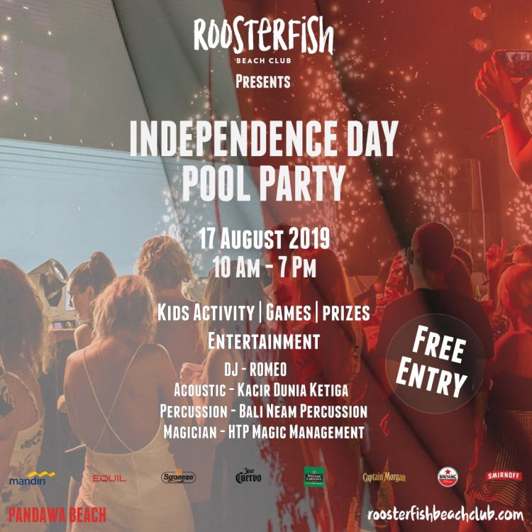 Independence Day Pool Party At Roosterfish Beach Club