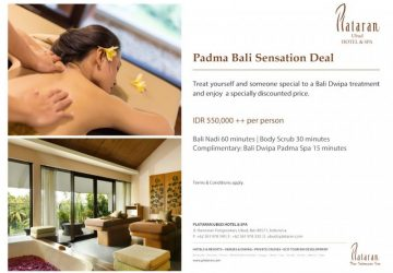 Padma Bali Sensation Deal at Plataran Ubud