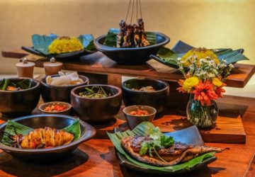 Uluwatu Rice Table – Set Menu at Artichoke Restaurant