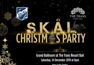 SKÅL Christmas Party At The Trans Resort Bali