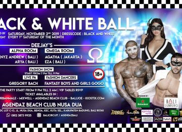 Black And White Ball Party At Agendaz Beach Club