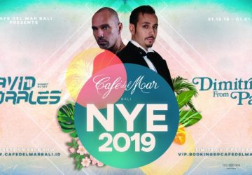 Café del Mar Bali releases an epic New Year's Eve line up!