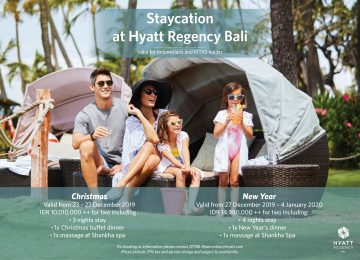 A LAIDBACK FESTIVE SEASON AT HYATT REGENCY BALI