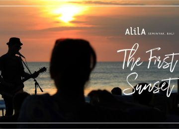 The First Sunset At Alila Seminyak