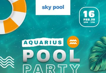 Zodiac Pool Party : Aquarius, now it's your turn!