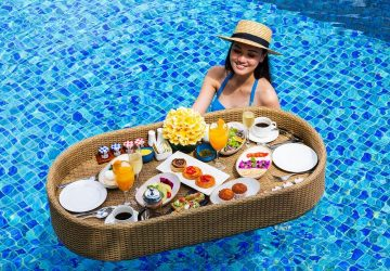 Floating Brunch at AYANA Resort and Spa, BALI