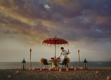 A Romance to Remember Forever : Valentine's Day at The ANVAYA Beach Resort Bali