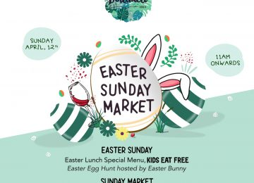 Celebrate the Easter weekend with a Sunday extravaganza at Seminyak haunt Botanica