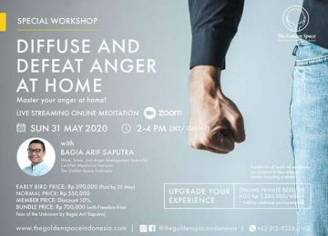 Diffuse and Defeat Anger at Home – Online Class
