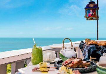 Sun, Sea & an Awesome Breakfast to set your mood for the day at Ji Restaurant Bali