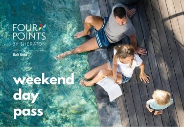 Weekend Day Pass at Four Points by Sheraton Bali, Kuta