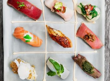 Every day is Sushi Day with Ji Restaurant Home Delivery Services