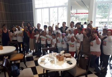A CELEBRATORY FEAST WAS HELD AT THE SAFFRON RESTAURANT – FOUR POINTS BY SHERATON BANDUNG