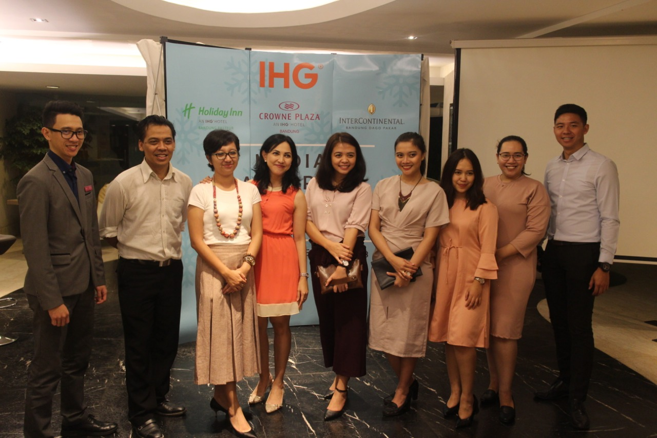 IHG Bandung Cluster Welcomes Christmas and New Year with Festive Events