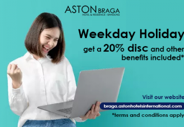 Weekend Deals Get 20%* Discount At Aston Braga Hotel & Residence Bandung