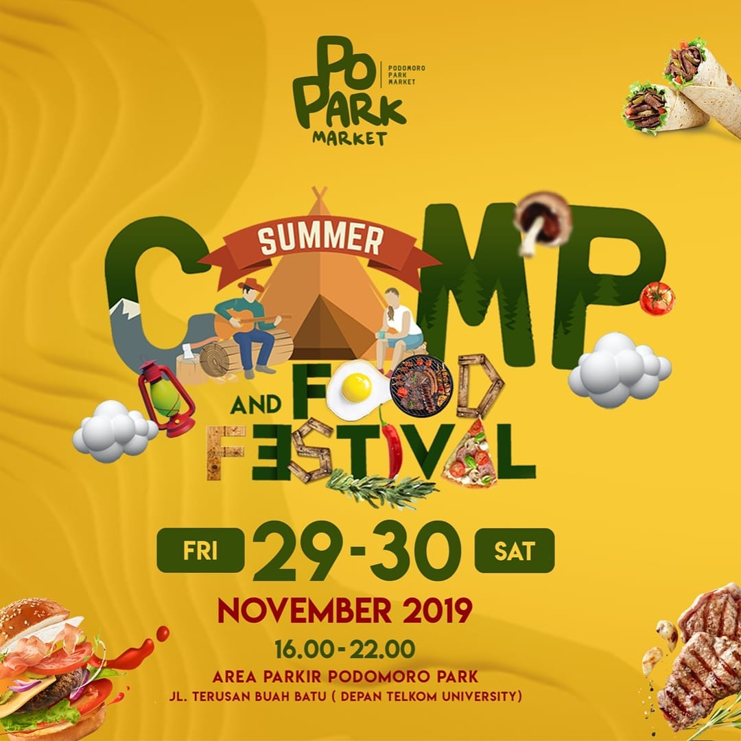 Summer Camp Festival 2020.Summer Camp Food Festival What S New Bandung