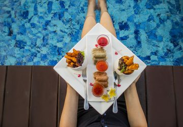 Weekend Delight at Mountain View Poolside Bar