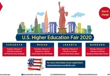 U.S. Higher Education Fair 2020 (Bandung)