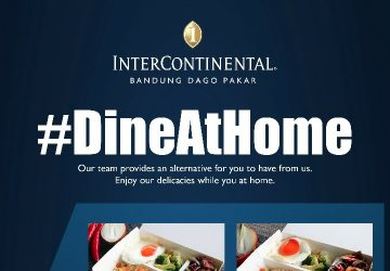 #DineAtHome with InterContinental Bandung Dago Pakar