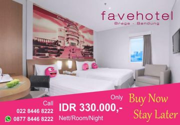 Buy Now, Stay Later At Favehotel Braga Bandung