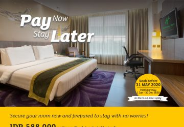 Pay Now Stay Later At Holiday Inn Bandung Pasteur