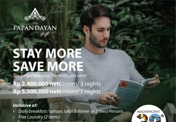 Stay More Save More At The Papandayan Hotel Bandung