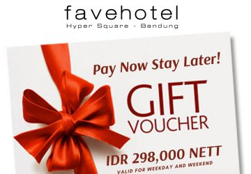 Pay now, Stay Later At Favehotel Hyper Square