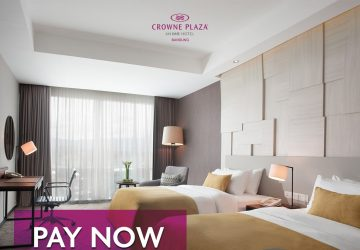 Pay Now Stay Later At Crowne Plaza Bandung