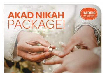 HARRIS Hotel & Conventions Festival Citylink Launched Akad Nikah Package!