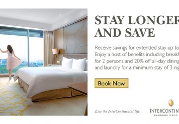 Stay Longer & Save at InterContinental Bandung Dago Pakar