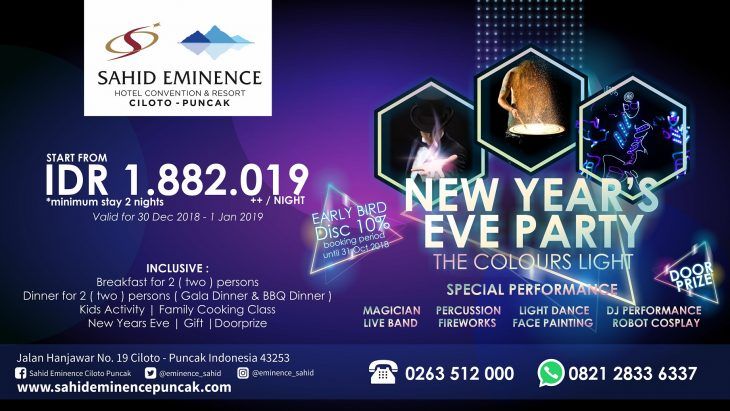 New Year's Eve Party at Sahid Eminence