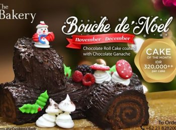 Bouche De'Noel at The Bakery