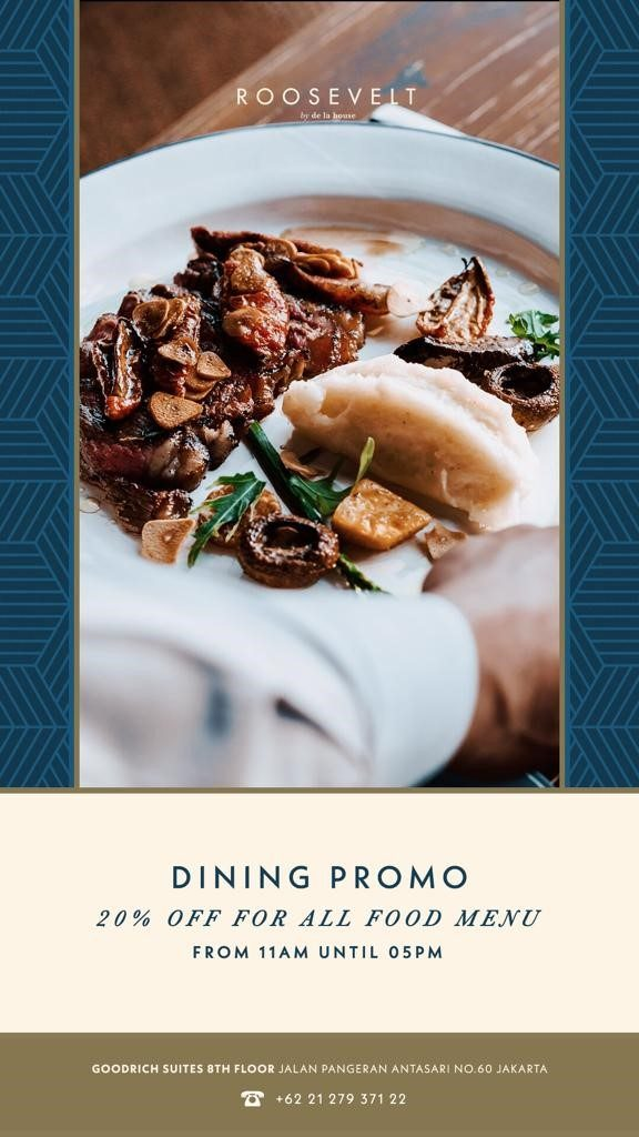 Dining Promo at Roosevelt