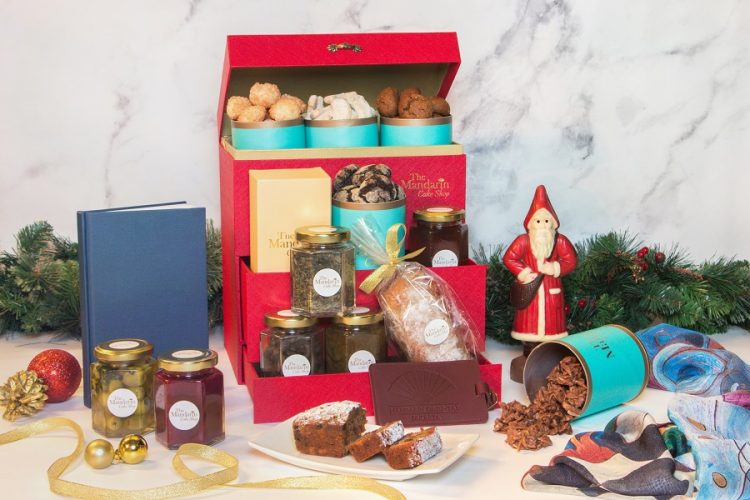 Equisite Christmas Hampers from The Mandarin Cake Shop