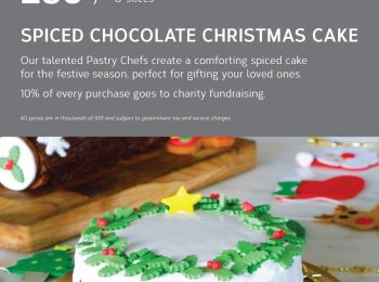 Spiced Chocolate Christmas Cake at Mercure Jakarta Pantai Indah Kapuk