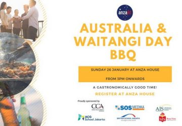 Family BBQ – Australia and Waitangi Day