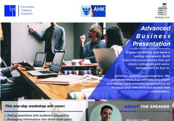 Advanced Business Presentation workshop by KPI