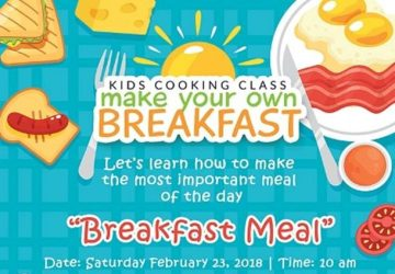"MAC Kids Cooking Class ""Make Your Own Breakfast"""