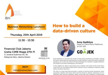 JBN Speed Networking session featuring GO-JEK