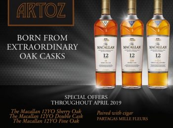 Macallan Promotion only at ARTOZ Bar