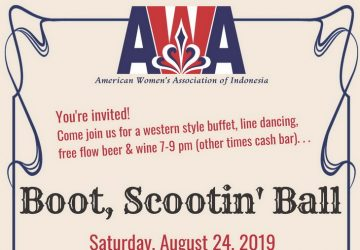 American Women's Association of Indonesia Present Boot, Scootin' Ball