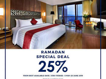 Stay at Aston Sentul Lake during Ramadan and enjoy special discount 25%!