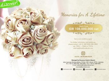 Memories for a Lifetime at Hotel Borobudur Jakarta